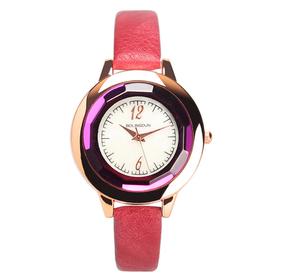 Đồng hồ nữ mặt tròn dáng basic thời trang