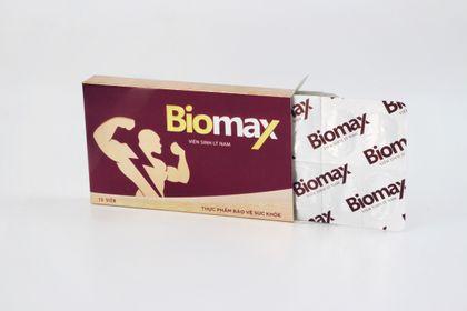Combo mua 3 tặng 1 Viên sinh lý nam Biomax Đông trùng hạ thảo Biofun