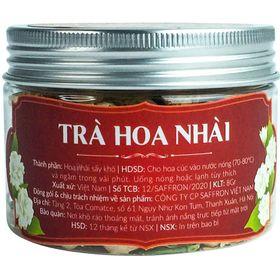 Trà hoa nhài khô Organic Saffron Việt Nam 10g