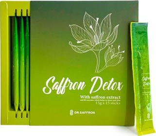 Saffron Detox Hỗ Trợ Giảm Cân, Thải Độc Hộp 15 thanh