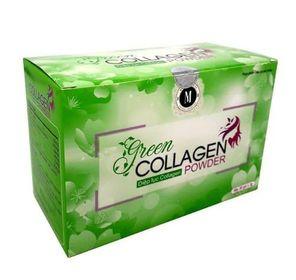 Bột uống hỗ trợ làm đẹp da diệp lục collagen