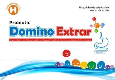 Viên uống lợi khuẩn Probiotic Domino Extra hộp 100 viên