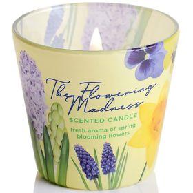 Ly nến thơm tinh dầu Bartek 115g QT9687 hoa dạ lan hương