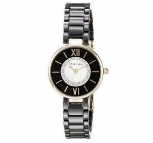 Đồng hồ nữ AK2178 BKGB Dây đá Ceramic màu đen