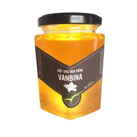 Mật ong rừng tây nguyên Vanbina 250gr Nguyên chất xuất khẩu