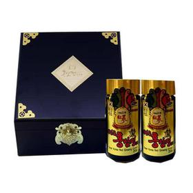 Cao Hồng Sâm Hộp Gỗ Đen Cao Cấp Hàn Quốc, Hộp 2 lọ x 250 gr