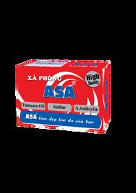 Xà phòng tắm ASA 120g hỗ trợ kháng khuẩn và làm sạch cơ thể