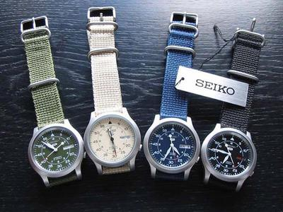 Review đồng hồ Seiko 5 quân đội chính hãng