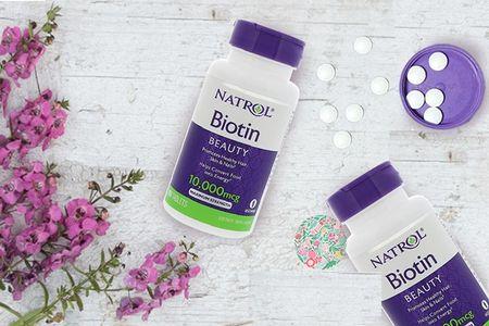 Review chi tiết viên uống mọc tóc natrol biotin