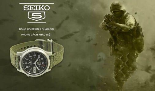 [NEWS] Cách phân biệt đồng hồ Seiko 5 quân đội Auth và Fake