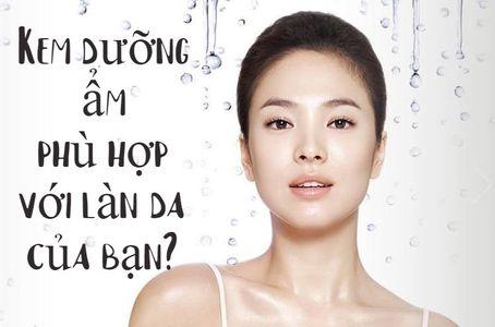 Phân tích kem dưỡng ẩm nào tốt phù hợp với làn da của bạn ?