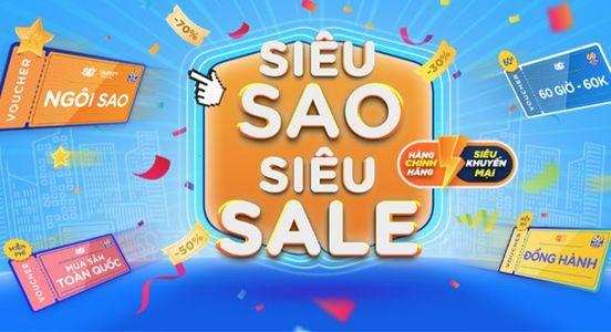 Săn hàng giá rẻ - 60 giờ mua sắm trực tuyến chỉ với 60K !