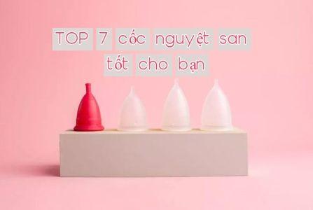 Review chi tiết Top 7 Cốc Nguyệt San tốt nhất hiện nay, công dụng, giá bán