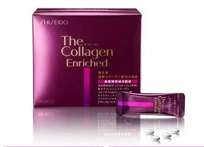 Viên uống Shiseido Collagen Enriched chính hãng của Nhật