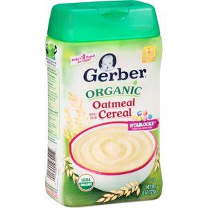 Bột ăn dặm Gerber cho bé 4 tháng tuổi