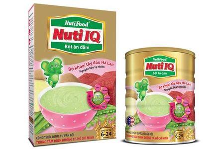 Bột ăn dặm Nutifood cho trẻ 6 - 24 tháng