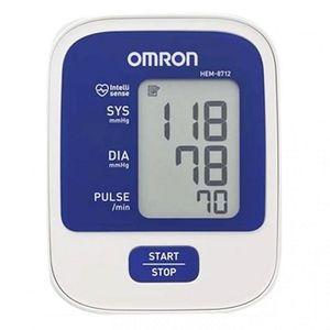 Máy đo huyết áp Omron HEM-8712 trắng - xanh