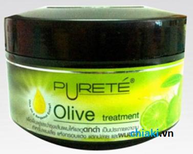 Kem ủ tóc Olive Purete giải pháp cho mái tóc