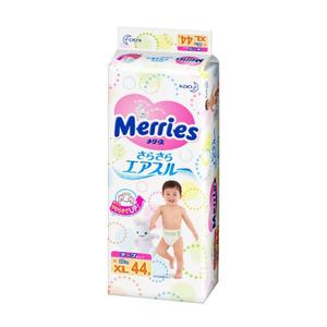 Tã dán Merries size XL cho bé 12 – 22kg