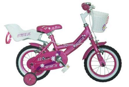 Xe đạp Totem Roses 12 hồng cho bé gái