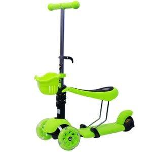 Xe trượt Scooter 3 trong 1 nhiều màu (loại 2)