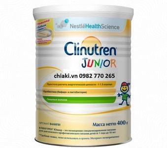 Sữa béo của Nga Clinutren Junior dành cho trẻ từ 1-10 tuổi