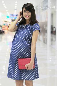 Đầm bầu Pretty Mom MK97 bò bi