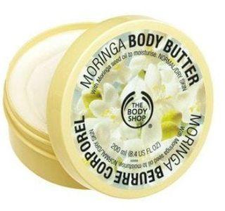 The Body Shop Moringa - Tẩy da chết toàn thân hương hoa bưởi