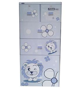Tủ nhựa Duy Tân  Mina 5 tầng 6 ngăn