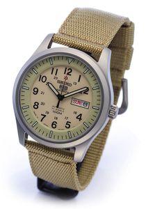 Đồng hồ Seiko quân đội SNZG07J1 Nhật Bản (tặng 1 bộ dây)