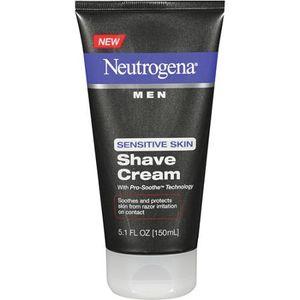 Kem cạo râu Neutrogena Men Sensitive Skin Shave Cream 150ml