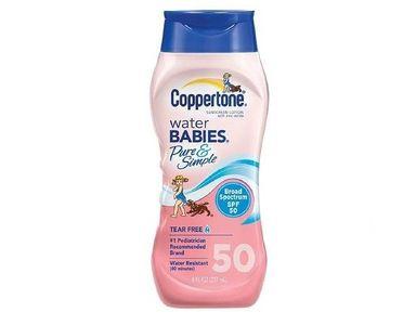 Kem chống nắng Coppertone SPF50 cho bé