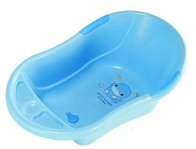 Chậu tắm cho bé Kuku 1044 cỡ lớn có van tháo nước tiện dụng