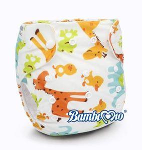 Tã vải Bambi Mio Animal SP025 ban ngày(2-4h) cho bé 3-16kg