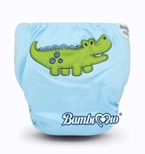 Tã vải Bambi Mio Gena NSP(suede cloth) ban đêm (6-8h) cho bé 3-16kg