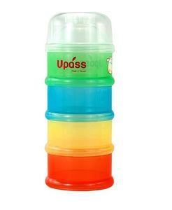 Hộp chia sữa Upass UP8003C 4 ngăn tiện lợi