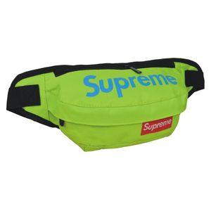 Túi đeo chéo Supreme bao tử xanh lá
