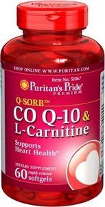 Viên uống hỗ trợ tim mạch coq10 & l-carnitine Puritan's Pride