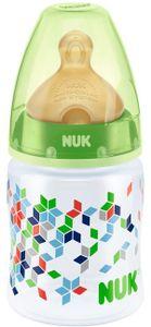 Bình sữa Nuk cổ rộng 150ml bình nhựa, núm silicone siêu mềm