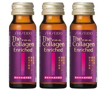 Collagen Shiseido Enriched của Nhật dạng nước uống