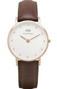 Đồng hồ Daniel Wellington 0900DW St.Mawes dây da cho phái nữ