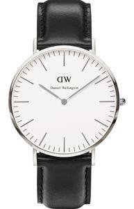 Đồng hồ Daniel Wellington Men's 0206DW dây da màu đen