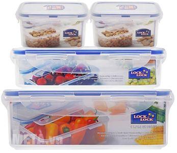 Bộ hộp đựng thực phẩm Lock&Lock HPL807NL04 470ml