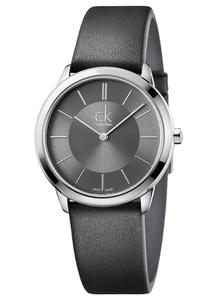 Đồng hồ CK đôi K3M211C4 (nam) - K3M221C4 (nữ) dây da