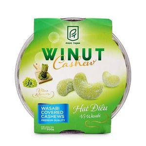 Hạt điều vị wasabi Winut 500gr