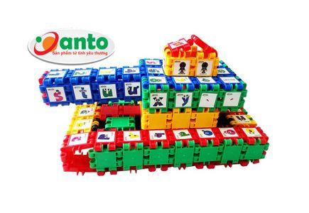 Bộ đồ chơi xếp hình Xe tăng Anto 390