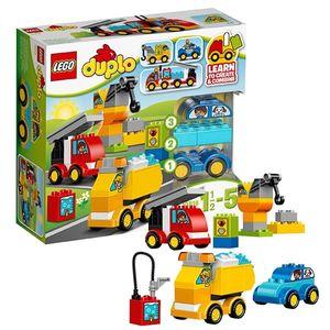 Đồ chơi xếp hình Lego Duplo 10816 - Ô tô đầu tiên của bé