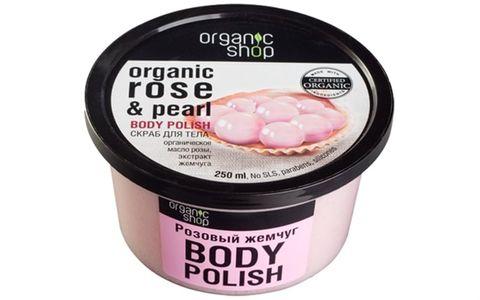 Kem tẩy da chết toàn thân Organic Shop 250 ml