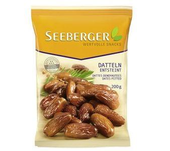 Quả chà là sấy khô tách hạt Seeberger 200g hàng Đức