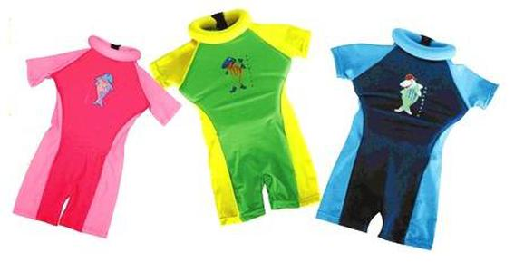 Bộ đồ tập bơi chống tia cực tím 50 UPF cho bé Swim Safe